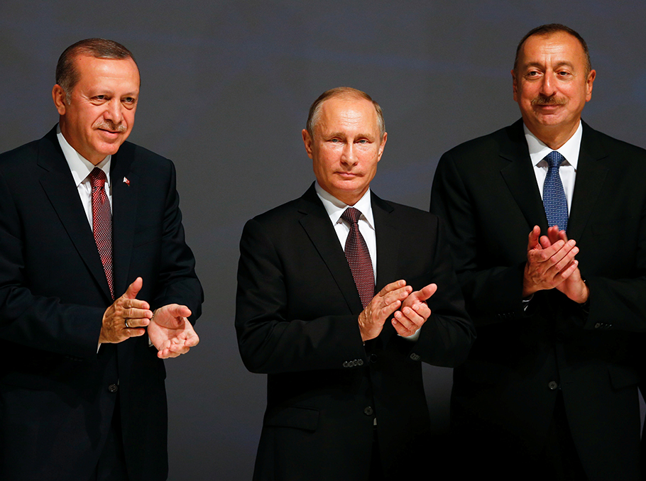 Erdogan-Putin-Alijev